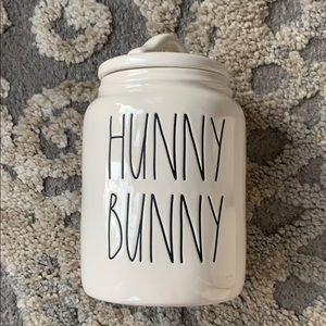 Rae Dunn Hunny Bunny Baby Canister
